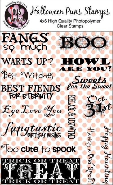 check out the new halloween puns clear stamps joys life - Halloween Pubs