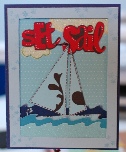 Cricut Wall Decor And More Projects : Featured designer wall decor more cricut sailboat card