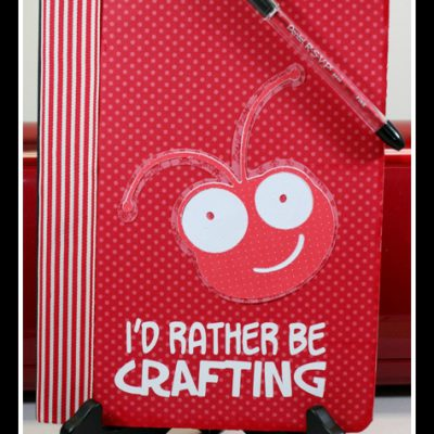 Cricut Bug Head Notebook 12 Days of Christmas DAY SEVEN GIVE AWAY