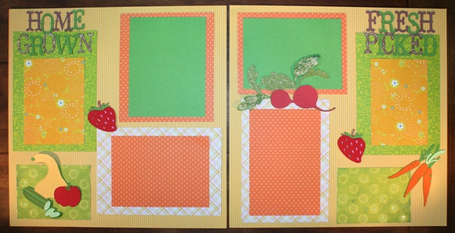 Joy's 1st Scrapbook Layout EVER – Cricut Country Life