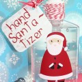 Hand SANTA-tizer!  I'm cracking myself up!