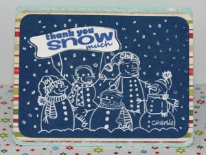 A Family Thank You Card