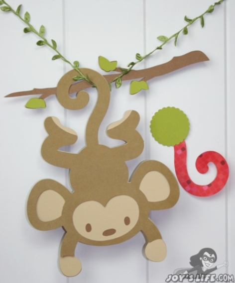 Cricut Life S A Party Pin The Tail On The Monkey Game