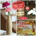 Twine Vase from Coke Bottle Better Homes and Gardens Magazine Knockoff #EarthDay