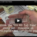 Say What?  New stamps AND A VIDEO?  COOL!