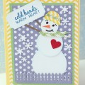 """That sweet stamp is from Joy's Life """"Oh Christmas Puns"""" new stamp release!"""