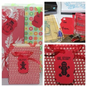How to Make a Gift Bag from Scrapbook Paper – Blog Hop