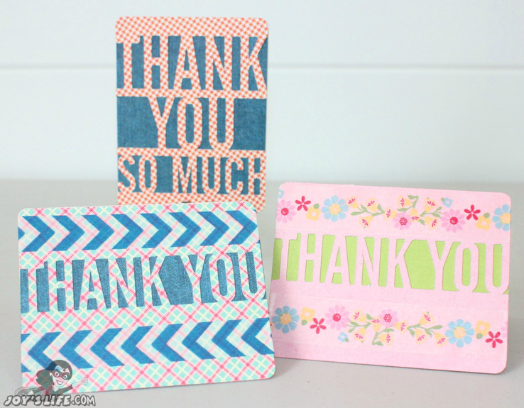 Quick Thank You Cards – Lori Whitlock Design Team
