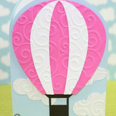 Hot Air Balloon Card with Joy's Life Stamps – Lori Whitlock Design Team Post