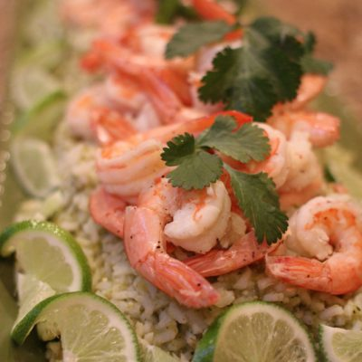 Shrimp with Green Chile Minute Rice #LoveEveryMinute