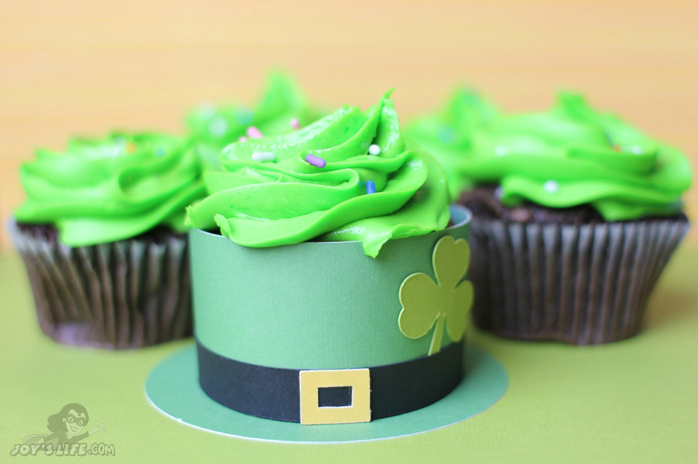 Leprechaun Hat Cupcake Wrapper – Lettering Delights
