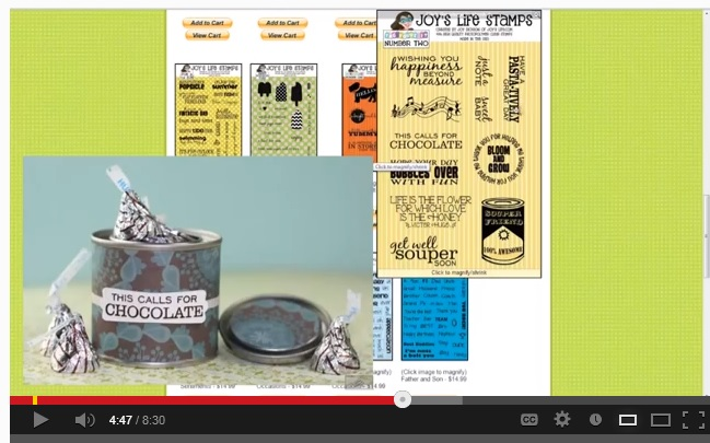 Joy's Life Craft Stamps – New Stamp Sets, Site Tour & Ideas VIDEO