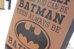Wooden Painted Batman sign at www.joyslife.com