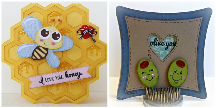Precious cards by the Joy's Life Design Team using the That Tastes Punny stamp set from www.joyslife.com