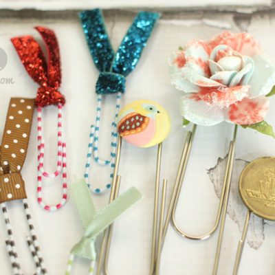 52: Episode 11: How to Create Decorative Paper Clip Bookmarks
