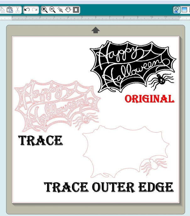 Free Happy Halloween Spider Web Printable