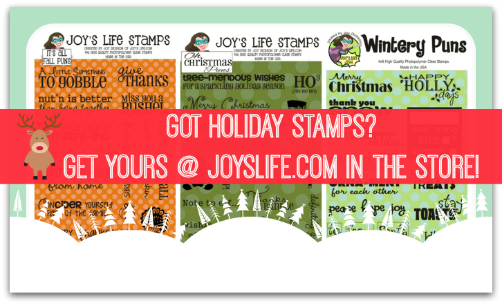Joy's Life Holiday Stamps #Christmas #crafts