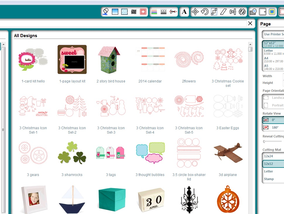Cameo Image library