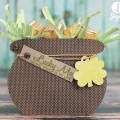 St. Patrick's Day 3D Pot of Gold with Silhouette Cameo and SEI #SEI #SilhouetteCameo #StPatricksDay #3D #PotOfGold