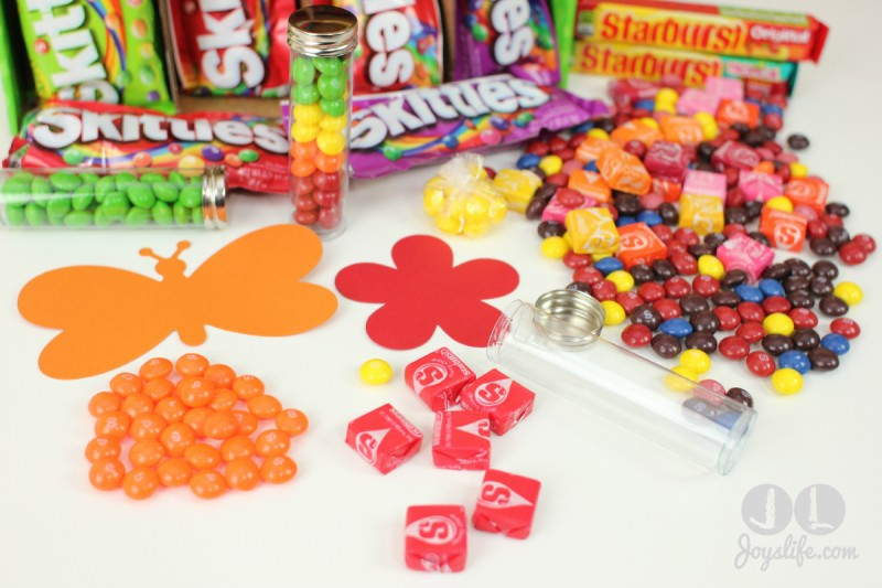 Butterfly & Flower Candy Gifts for Spring with Skittles and Starburst #VIPFruitFlavors #CollectiveBias #shop