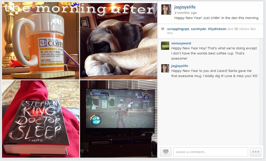 The Morning After #NewYearsDay #2014 #EnglishMastiff #puppy #Joyslife #Instagram