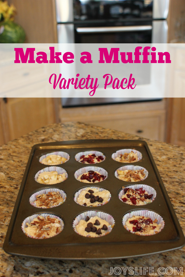 Make a Muffin Variety Pack and Please All the Picky Eaters #BrummelBrown #recipe #muffin