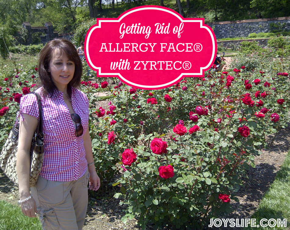 Getting Rid of Allergy Face with Makeup Tips and Zyrtec #AllergyFace #ad