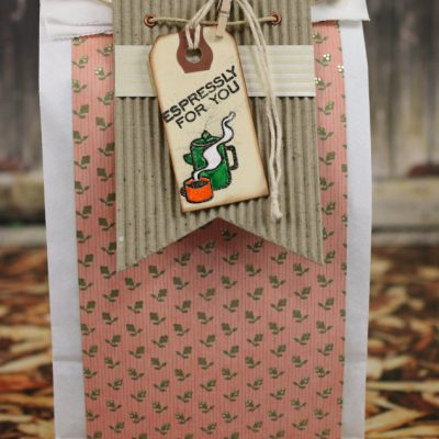 Lunch Bag Turned Coffee Gift Bag with SEI