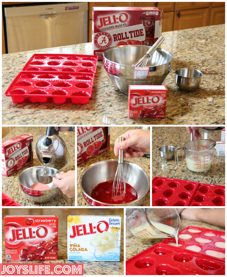 We Roll Tide with Our Alabama Game Day Food & Jell-O Jigglers #TeamJellO #shop #RollTide #Bama #footballfood