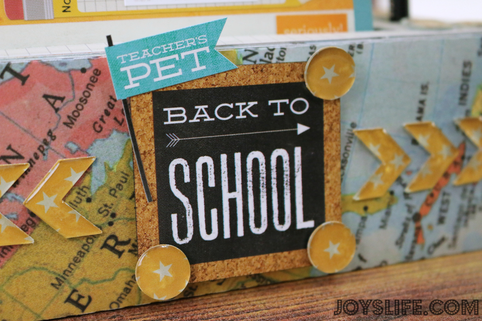 Back to School Note Holder Teacher Gift with Epiphany Crafts #EpiphanyCrafts #SvgCuts #BackToSchool #TeacherGifts #SilhouetteCameo