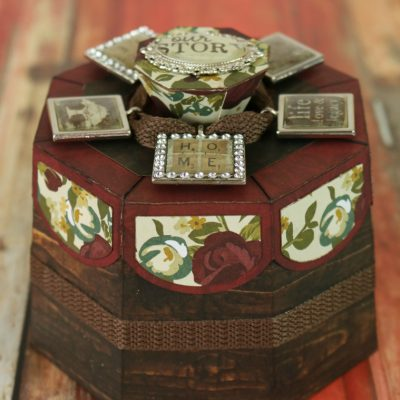 Lovely Autumn Box with Epiphany Crafts
