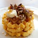Cinnamon Apple, Roasted Pecan & Banana Frozen Breakfast Waffles