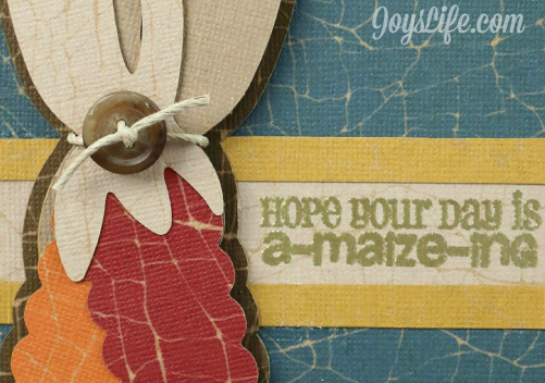 Core'dinations Design Team A-Maize-ing Card Sneak Peak #coredinations #joyslifestamps #fall #cards #maize