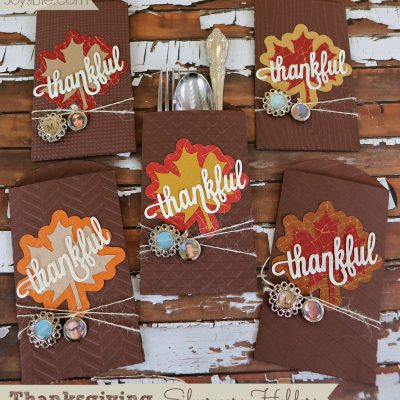 Thanksgiving Silverware Holders with Epiphany Crafts