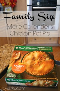Busy Winter Days Made Easier with Marie Callender's Pot Pies Family Size #PotPiePlease #ad