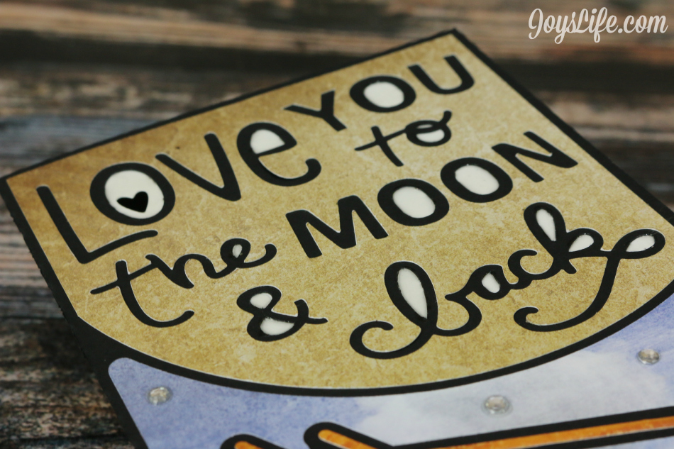 Love You to the Moon Card – Xyron & Paper House Blog Hop