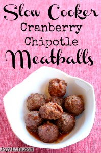 Cranberry Chipotle Meatballs Delicious Party Food #SeasonedGreetings #chipotle #Christmas #recipes #ad