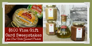 A Honey of a Sweepstakes! $500 Visa GC Sweepstakes from Don Victor Gourmet Products #HoneyForHolidays #DonVictor #ad