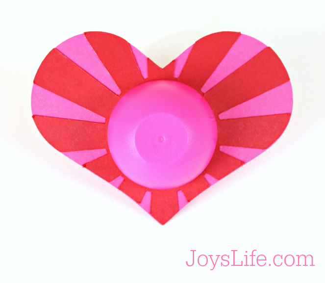 Lip Balm Valentine with Silhouette Cameo #SilhouetteCameo #Xyron #Valentine
