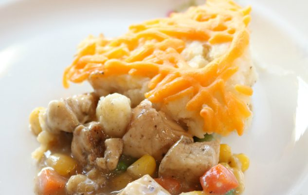 Campbell's Address Your Heart & Easy Chicken Shepherd's Pie Recipe