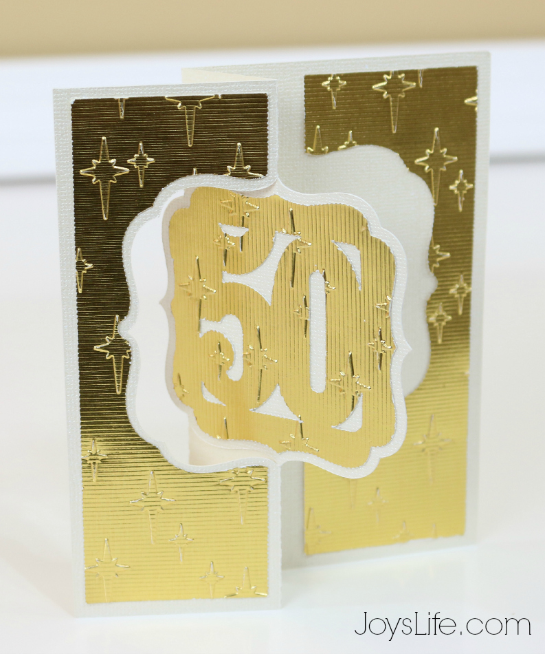 50th Anniversary Card Idea