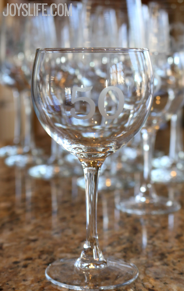 How to Etch Glassware