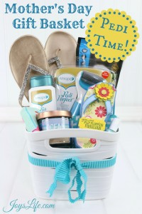 Mother's Day Pedicure Gift Basket Ideas #AmopeLovesMoms #Target #ad #Pedicure #GiftBasket #MothersDay