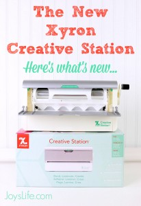 Xyron Creative Station - What's new #Xyron #CreativeStaion #crafts