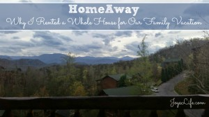Why I Rented a Whole House for Our Family Vacation #HomeAway4Kids #ad