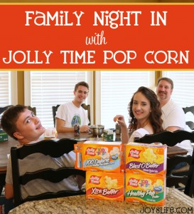 Family Night In with Jolly Time Pop Corn #ad #ourJOLLYTIME