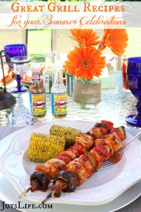 Great Grill Recipes for Your Summer Celebrations #KingOfFlavor #Ad