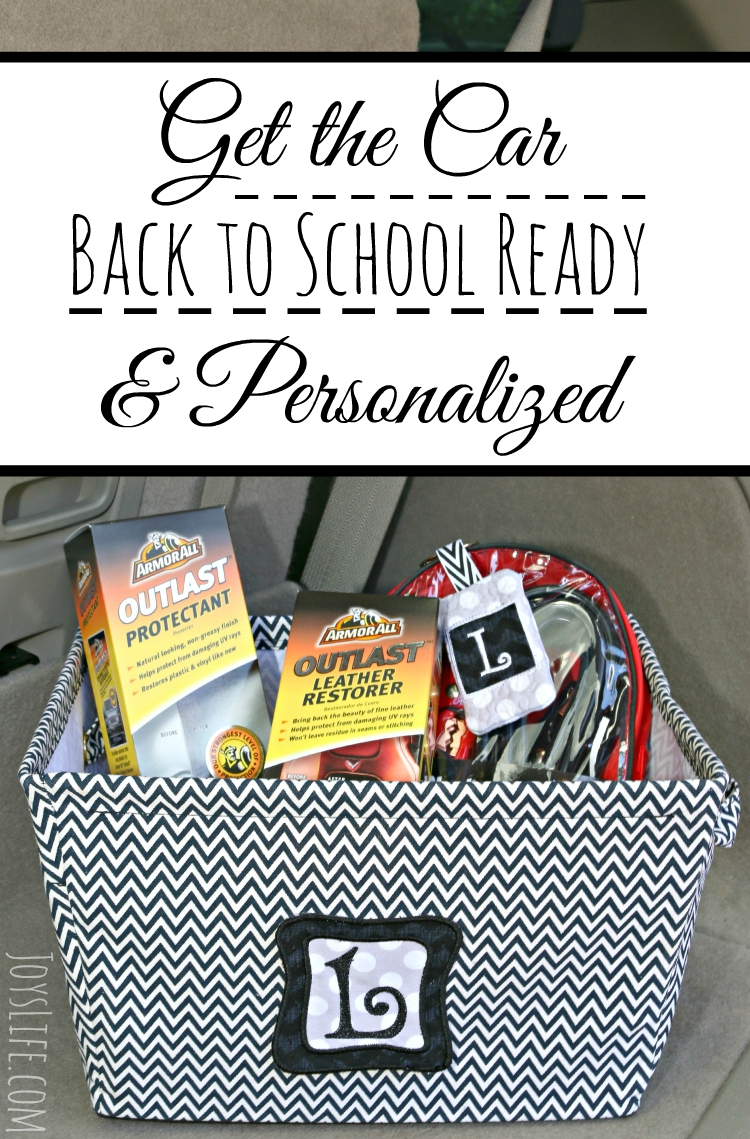 Get the Car Back to School Ready & Personalized #1stImpressionsCount #ad #embroidery