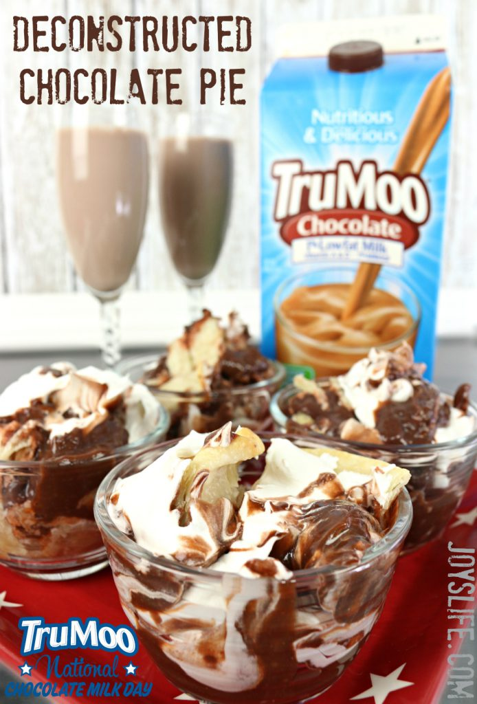 Deconstructed Chocolate Pie – National Chocolate Milk Day