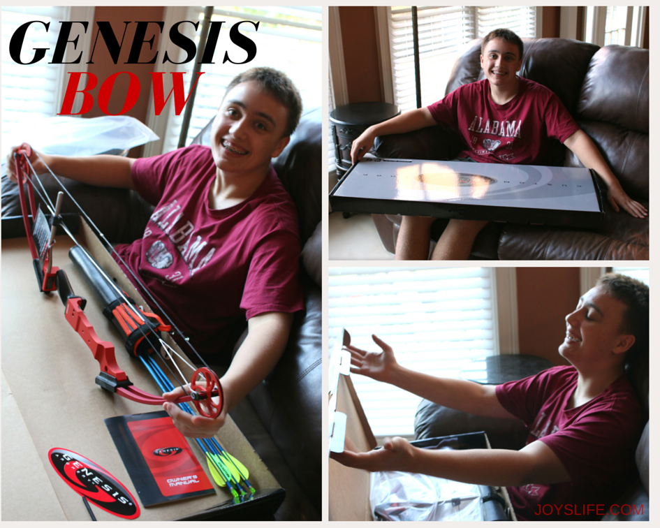 Give the Gift of Archery with a Genesis Bow + A Giveaway #ad #GenesisBows #giveaway
